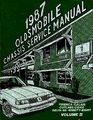 1987 Calais Cutlass Ciera 88 Firenza 98 Shop Service Repair Manual Factory Oem