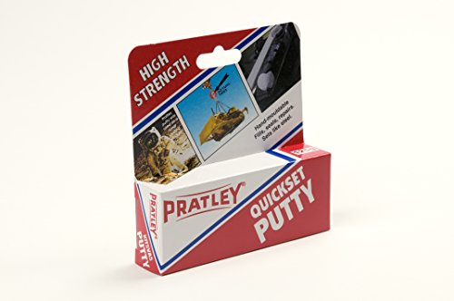 6 X Pratley Quick Set Adhesive Epoxy Putty 125g 4 Ounces 84135