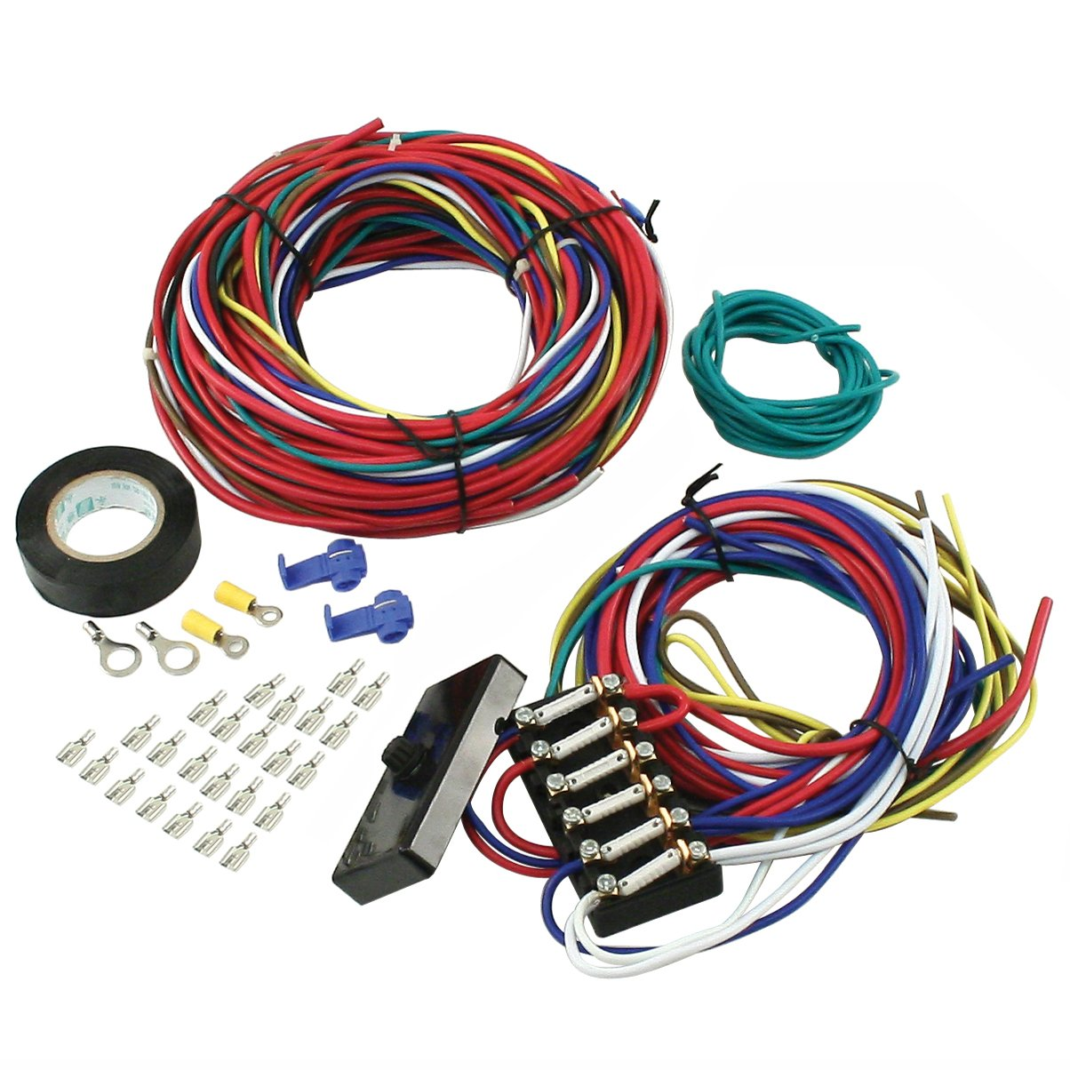 Empi 00-9466-0 Wire Loom Kit Vw Buggy Sand Rail Universal