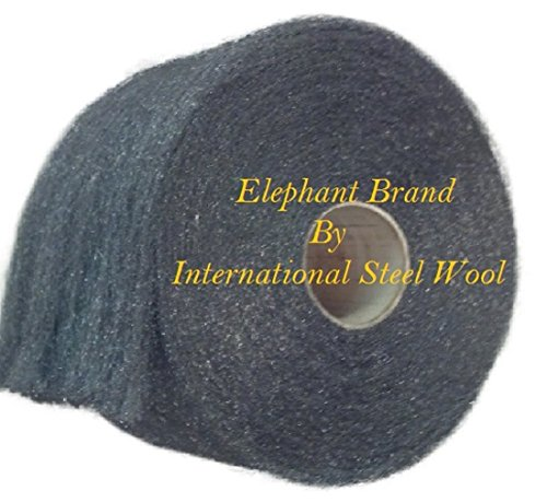 0000 Stainless Steel Wool Pads: Fine Stainless Steel Wool 1lb Roll