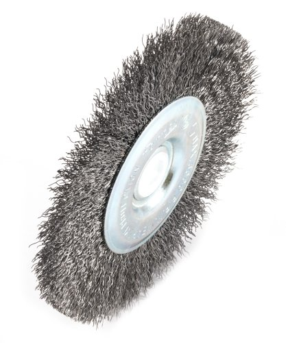 Coarse Crimped with 1//2-Inch Through 5//8-Inch Arbor 5-Inch-by-.012-Inch Forney 72741 Wire Wheel Brush