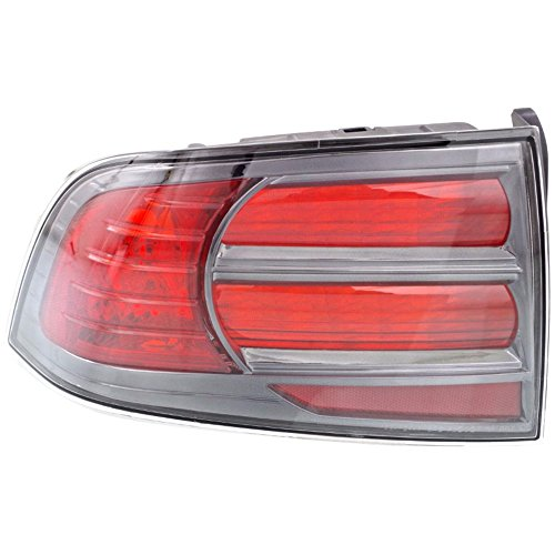 04-08 Acura Tl Left Driver Tail Lamp Unit Assembly W