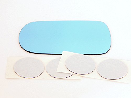 Right Pass Blue Mirror Glass Lens Fits 91-96 Inf G20 89-94 Maxima 90-96 300ZX