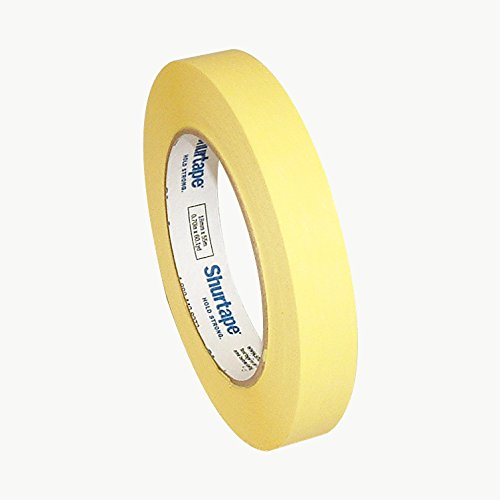 Shurtape Cp-632 Colored Masking Tape 3 4 in X 60 Yds Yellow