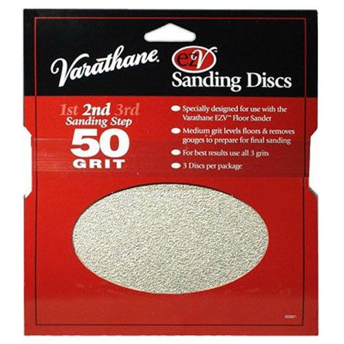 Rust Oleum 203937 Varathane 50 Grit Sand Discs For Ezv