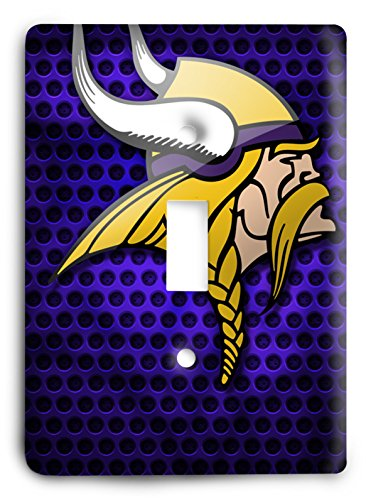 Nfl Come Hard Vikings Light Switch Cover