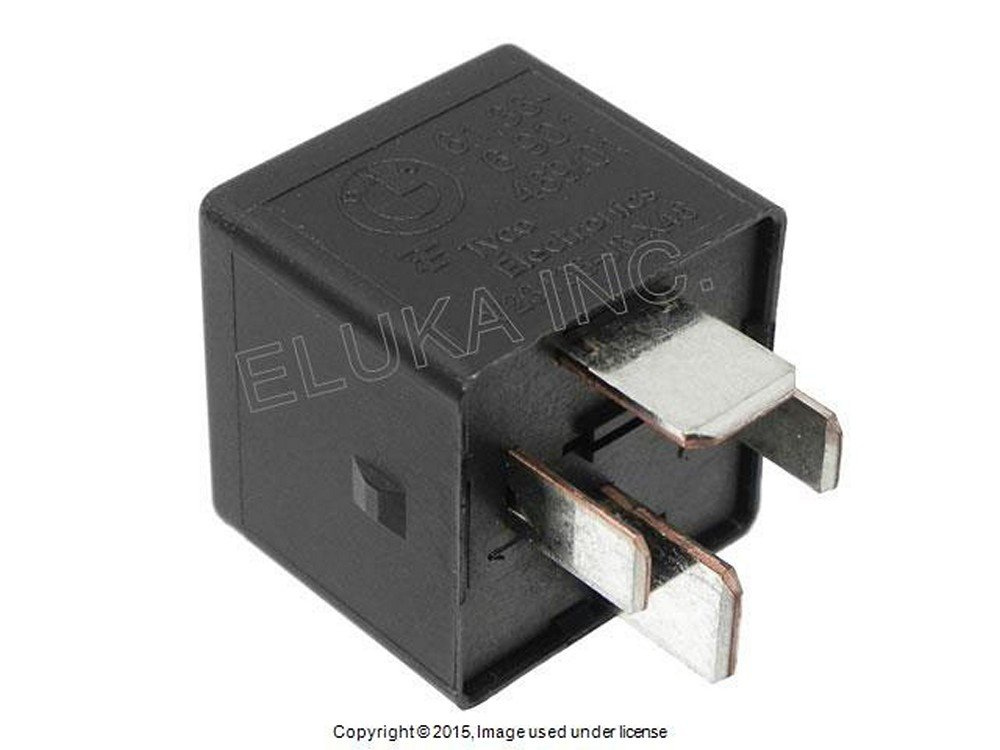 bmw genuine fuse box multi purpose relay 4 prong black