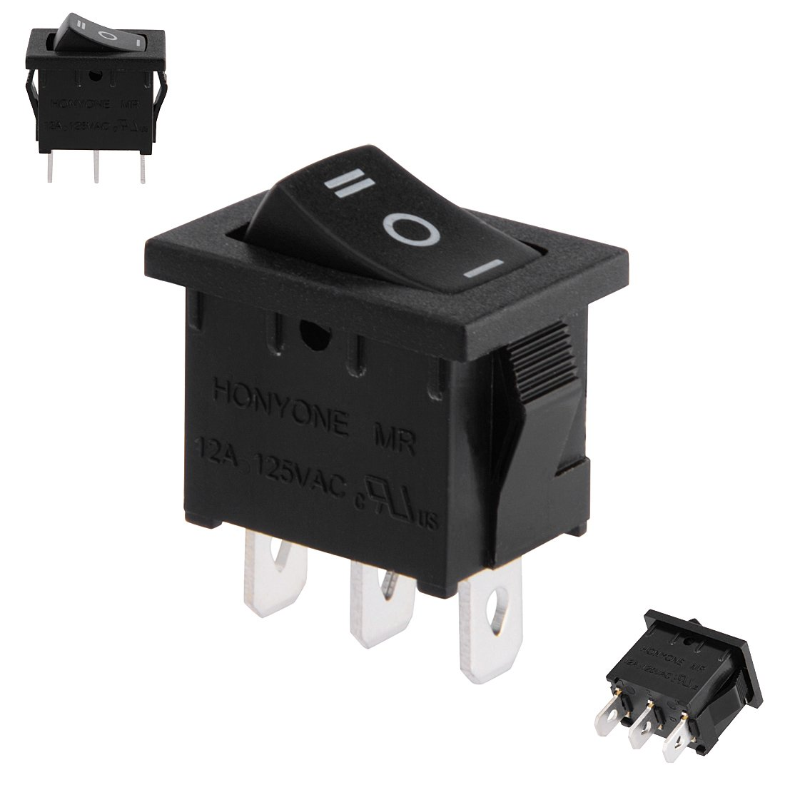 uxcell spdt p  position    toggle wiring boat