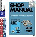 1971 Chevrolet Vega 2300 Shop Body Service Repair Manual Cd W Overhaul