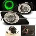 10 11 Toyota Camry Le Xle Green Halo Projector Fog Lamp Lights Kit
