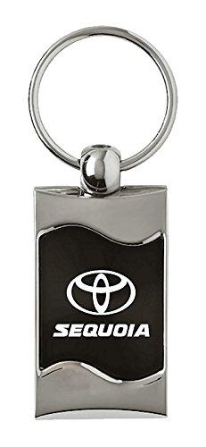 Toyota Sequoia Rectangular Black Fob