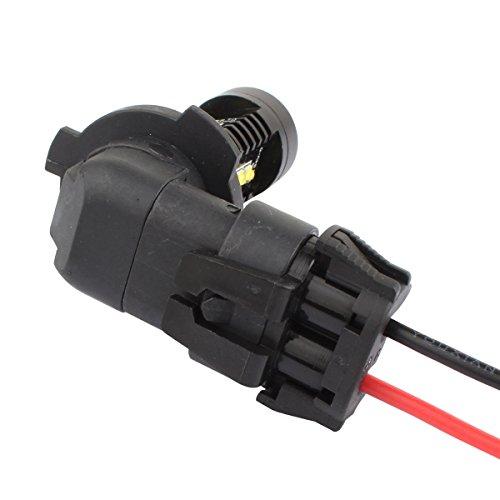 tomall 9005 hb3 h10 9006 hb4 bulb sockets female adapter. Black Bedroom Furniture Sets. Home Design Ideas
