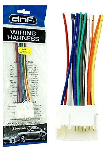 Dnf    Wire    Harness Stereo Radio Adapter for Select Accord
