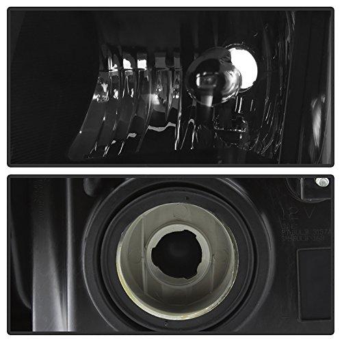 Vipmotoz 2007-2011 Dodge Nitro Headlights Matte Black
