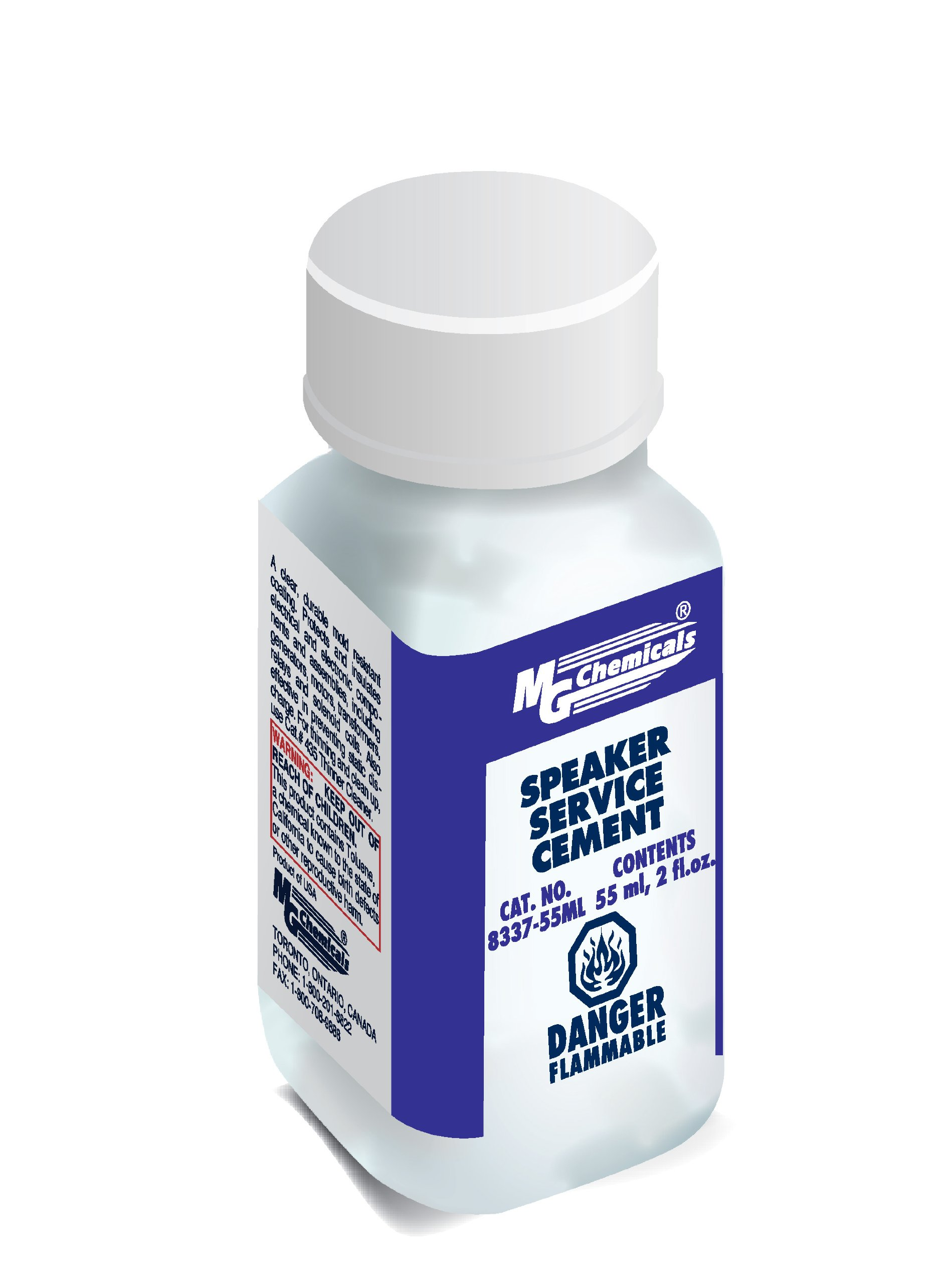 Mg Chemicals Speaker Service Contact Cement 55 Ml Liquid