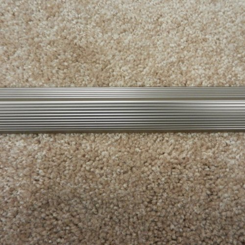 36-Inch Satin Nickel M-D Building Products Cinch Seam Cover Fluted