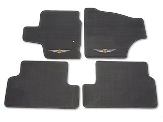 Oem Chrysler Town Country Carpet Floor Mats Med Slate Grey