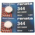 344 Renata Watch Batteries 2pcs