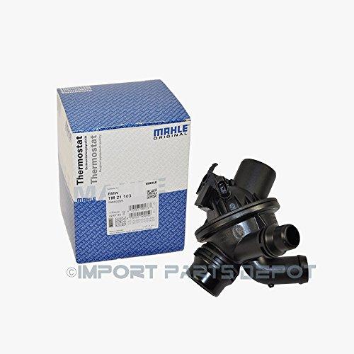 Bmw Engine Thermostat Housing Sensor Mahle Oem 11537601159