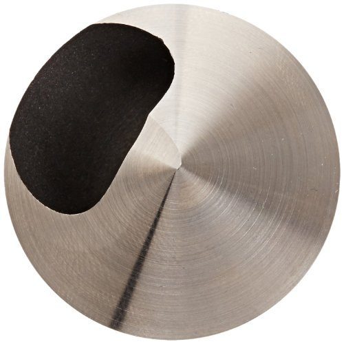 5//16 Body Diameter 1//4 Shank Diameter Round Shank 60 Degree Point Angle TiN Coated KEO 53500 Cobalt Steel Single-End Countersink