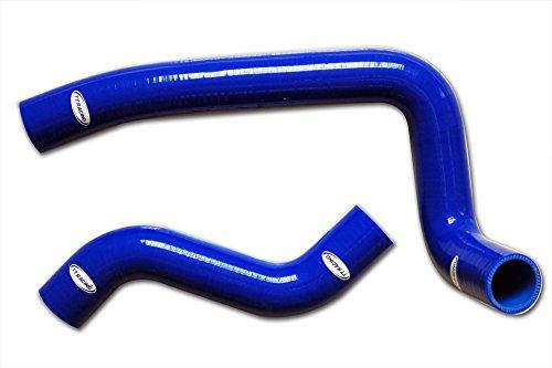 Tt Racing Blue Silicone Radiator Hose Kit for Mazda Rx7 Fd3s Fd Tt1501bl