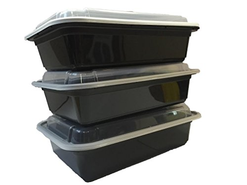 Microwavable Food Container With Lid Bento Box Black 10