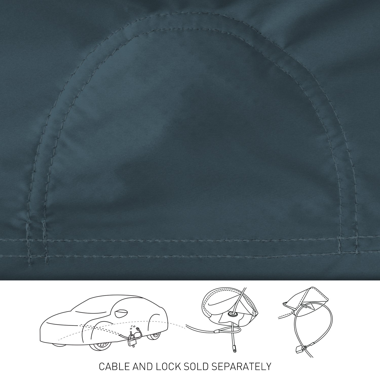 Coverking Custom Fit Car Cover for Select Chevrolet Bel Air Models Stormproof Blue