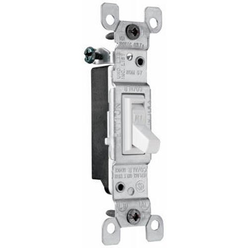 Pass Seymour 660wgcacc20 Single Pole Toggle Switch 15