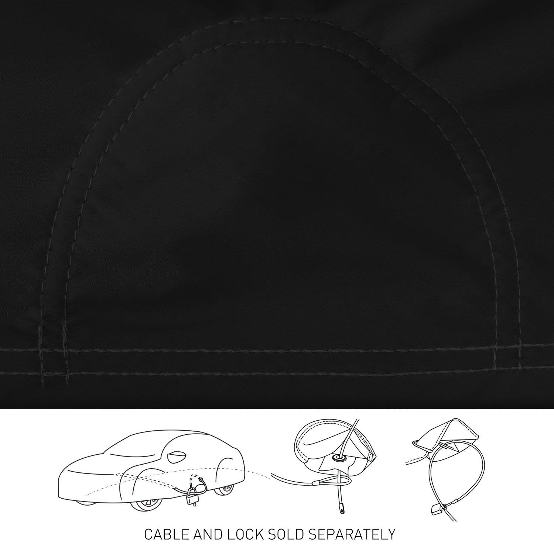 Coverking Custom Fit Car Cover for Select Chevrolet Bel Air Models Stormproof Black