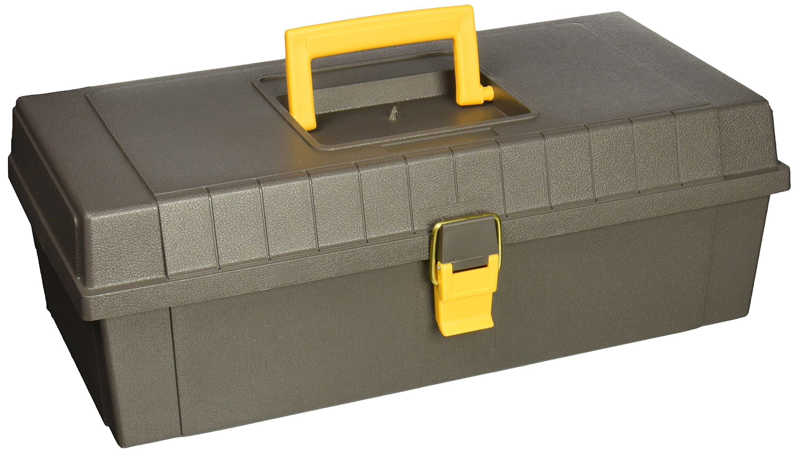Plano Molding 100 15 Inch Tool Box Graphite Gray With Iron