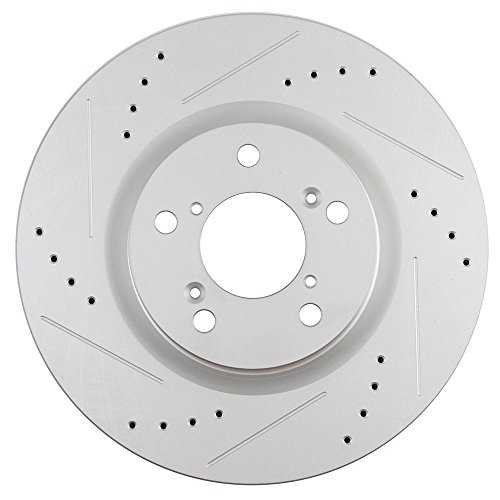 Scitoo Brake Kit Front Discs Rotors And Ceramic Pads For
