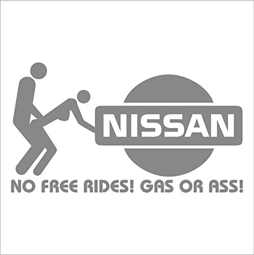 no free rides decal for nissan 200 240 280 sx versa armada murano altima 300zx turbo sentra se