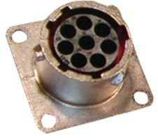 Souriau Ut001823ph Uto01823ph Male Square Flange Receptacle Ip67 and 48h Salt Spray
