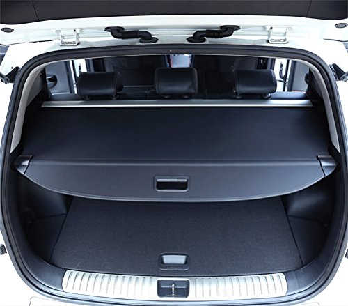 For Hyundai Santa Fe 2016 2017 2018 Retractable Cargo Cover Luggage Shade Black