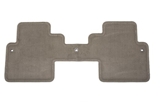 GM Accessories 17800429 Third-Row One-Piece Carpeted Floor Mat in Cashmere