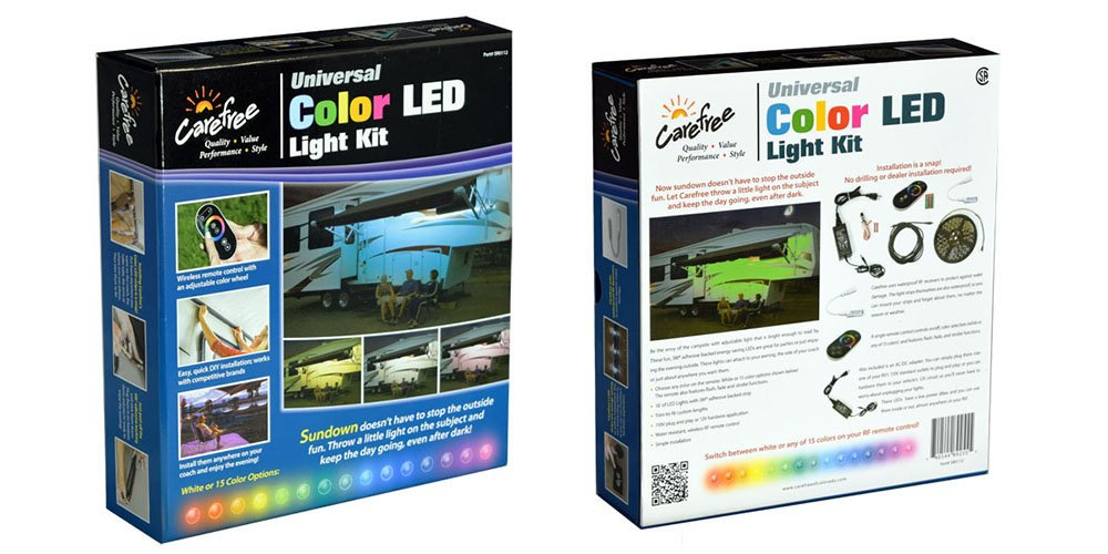 Carefree Sr0112 15 Colors Including White Color Led