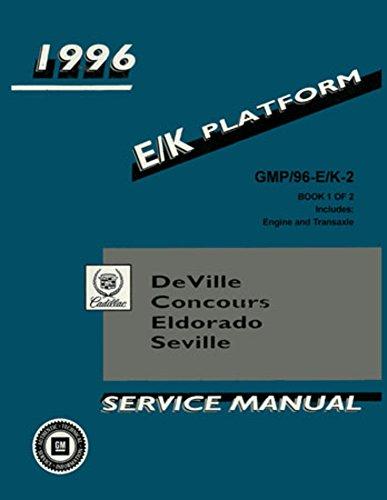 1996 Cadillac Deville Concours Eldorado Seville Shop