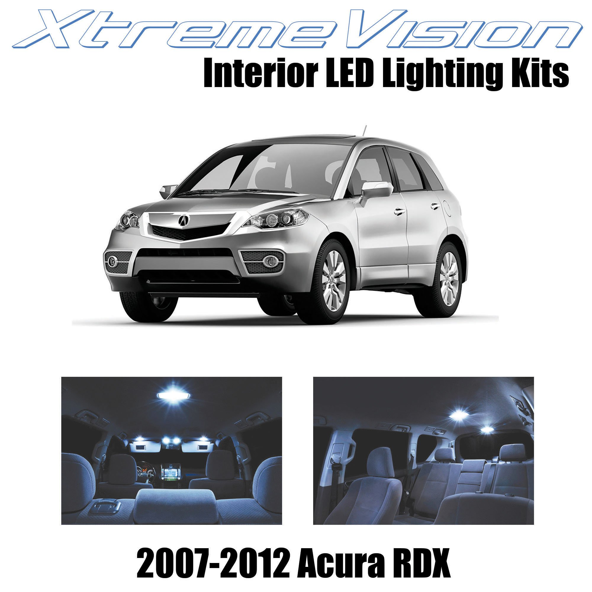 Xtremevision Acura Rdx 2007-2012 6 Pieces Cool White