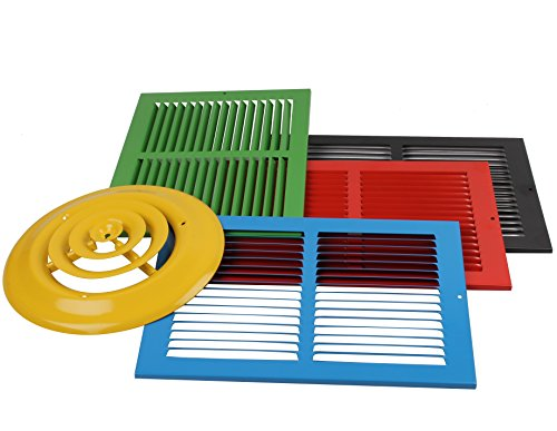 30 X 18 Steel Return Air Filter Grille for 1 Removable Face