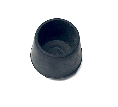 Bimini Top Black Rubber Tube Ends Chair End Caps For 7 8in O D