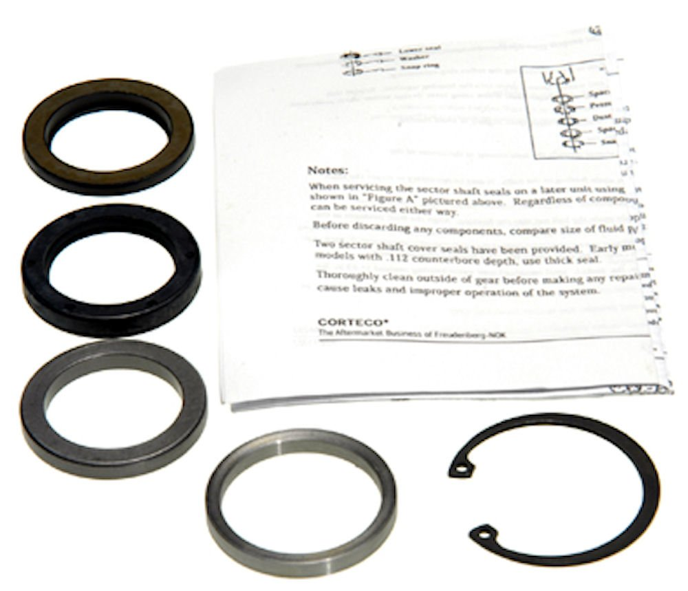 Steering Gear Pitman Shaft Seal Kit Edelmann 8763