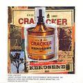 Cracker Kerosene Hat Cling On Decal