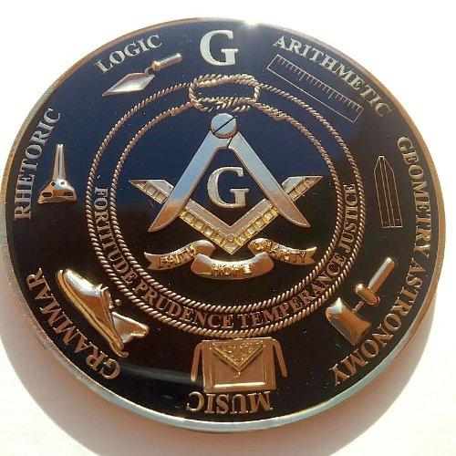 Supercharged Electric Az: Delux Masonic Love For Arts Black & Golden Finish Master