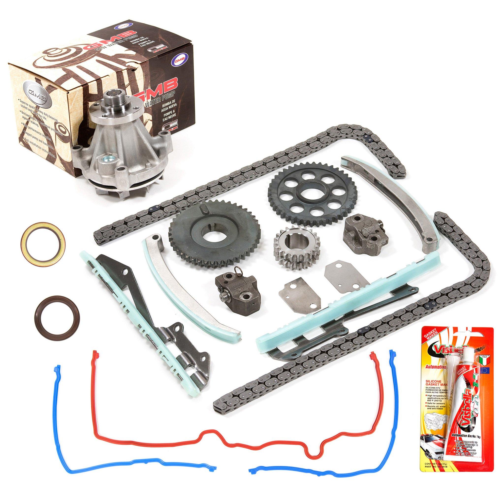 97-02 Ford 4 6 Sohc 16v Romeo Timing Chain Kit Gmb Water