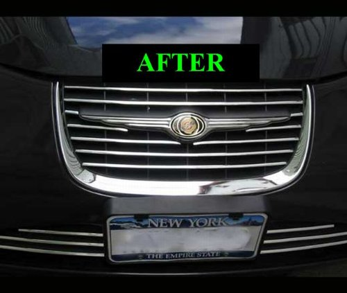 1999-2004 Chrysler 300m Lower Chrome Grille Grill Kit 2000