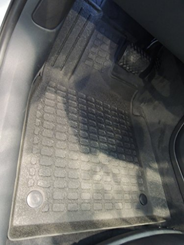 2016 Audi A6 3 0t Interior: Stardiamondliners All Weather Rubber Floor Mats For 2012