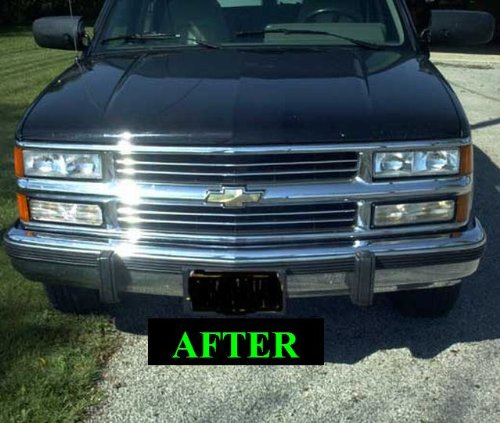 1992-1999 Chevrolet Suburban Chrome Grill Grille Kit Chevy