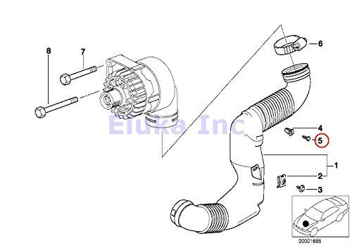 8 X Bmw Genuine Hex Head Metal Screw 4 8 X 18 Mm 740i