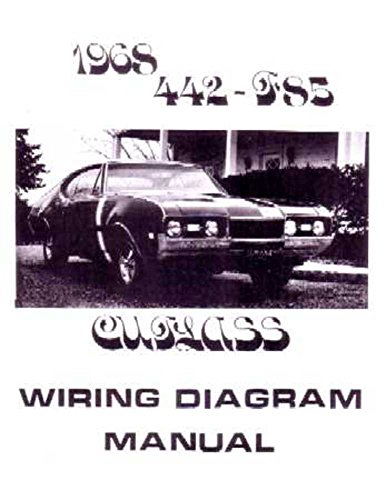 1968 oldsmobile 442 cutlass f 85 electrical wiring diagrams schematics manual. Black Bedroom Furniture Sets. Home Design Ideas