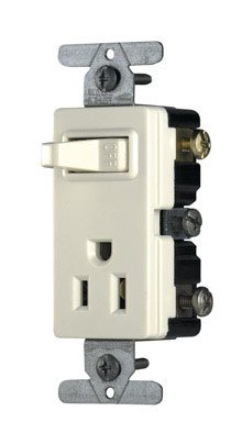 cooper wiring decorator sp switch grounded receptacle. Black Bedroom Furniture Sets. Home Design Ideas